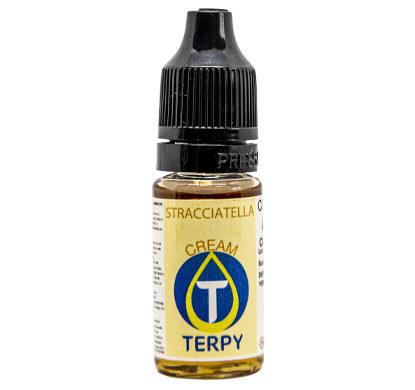 Botella de 10ml para cigarrillo electronico sabor cremosos stracciatella