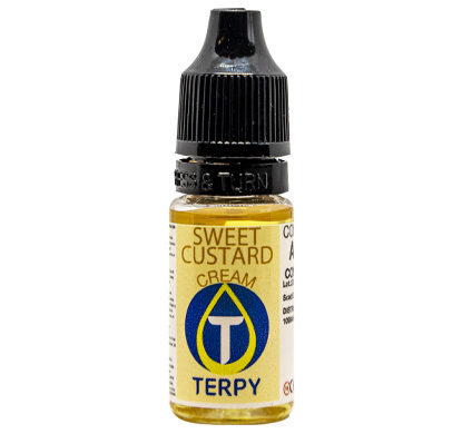 Botella de sabor cremosos Sweet Custard 10ml para cigarrillo electronico
