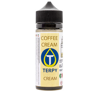 Envase de 120 ml de e-liquidos cremosos para cigarillo electronico Coffee Cream