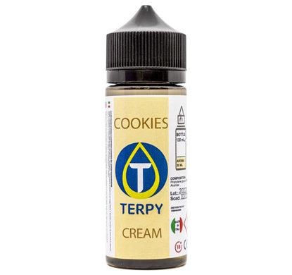 Liquido para cigarro electronico cremoso Cookies en envase de 120 ml
