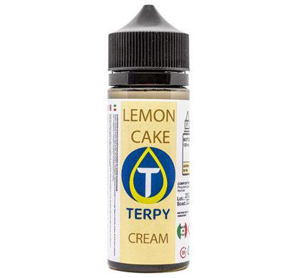 Envase 120 ml e-liquidos cremosos Lemon Cake