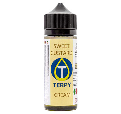 Cigarrillo electronico e-liquidos cremosos Sweet Custard en envase de 120 ml