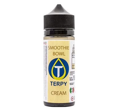 Envase de 120 ml de liquido para cigarrillo electronico cremoso Smoothie Bowl