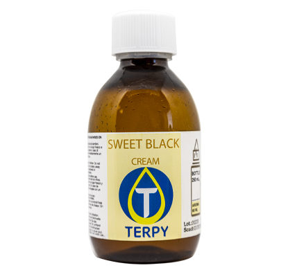 Botella de 250 ml liquido para cigarro electronico cremosos Sweet Black