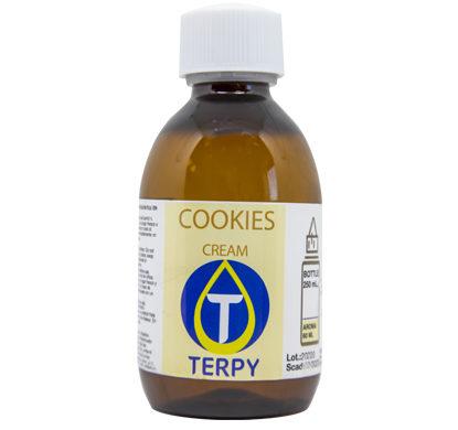 Botella de 250 ml de e-liquidos cremosos para cigarro electronico Cookies