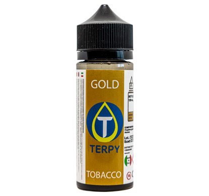 Envase de liquido para cigarrillo electronico tabaco Gold de 120 ml