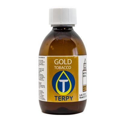 Botella de 250 ml de liquido para cigarrillo electronico tabaco Gold