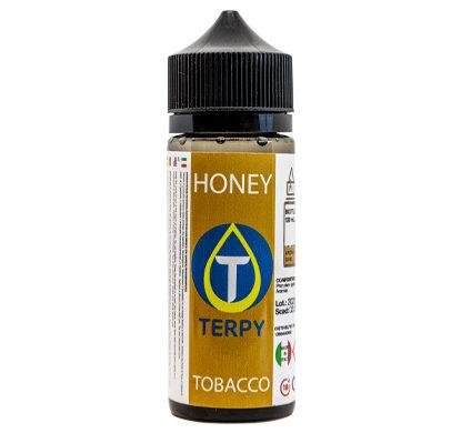 Envase 120 ml e-liquidos tabaco Honey