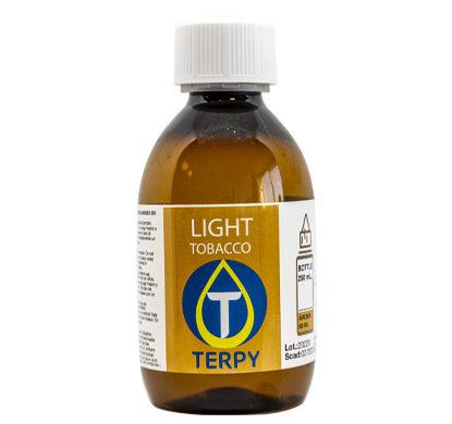 Botella de 250 ml de liquido para cigarrillo electronico tabaco Light
