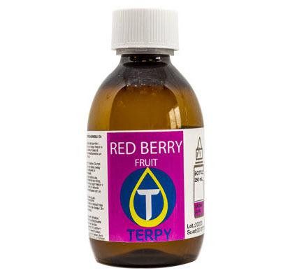 Botella de 250 ml de e-liquidos frutales de Red Berry para cigarro electronico