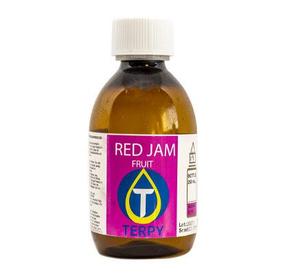 Liquido para cigarro electronico frutal Red Jam en botella de 250 ml