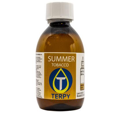 Botella de 250 ml de e-liquid tabaco Summer para cigarrillo electronico
