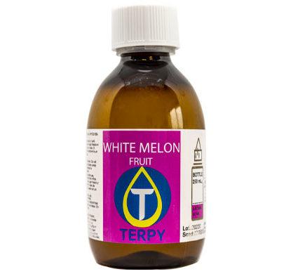 Botella de 250 ml de liquido para cigarro electronico frutal White Melon