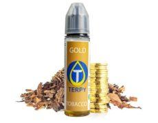 Botella de líquido para cigarrillo electronico con sabor a tabaco Gold