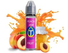 Peach jam el líquido de vapeo a sabor de melocotón para cigarrillo electrónico