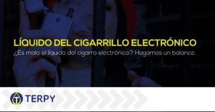 líquido del cigarrillo electrónico