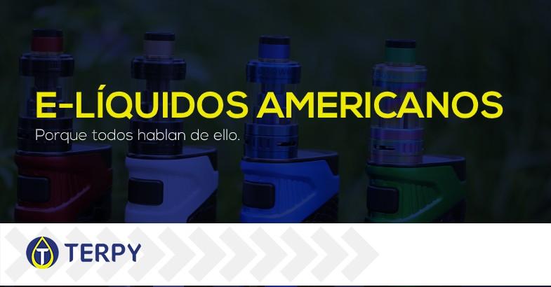 Líquidos americanos de cigarrillos electrónicos