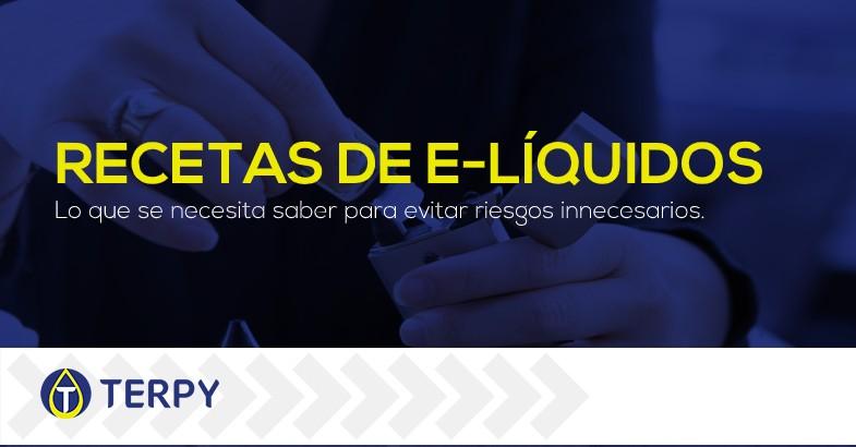 Recetas de líquidos de cigarrillos electrónicos