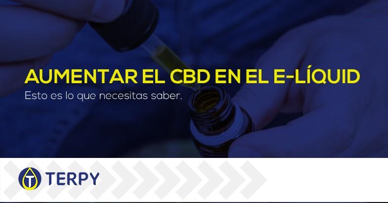 aumentar el CBD líquido del cigarrillo electrónico