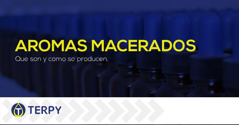 Aromas macerados para e liquids