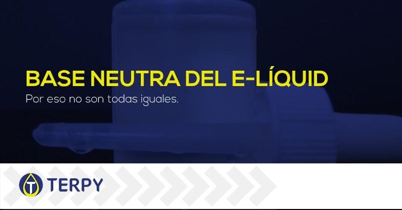 Base neutra del líquido de e cig