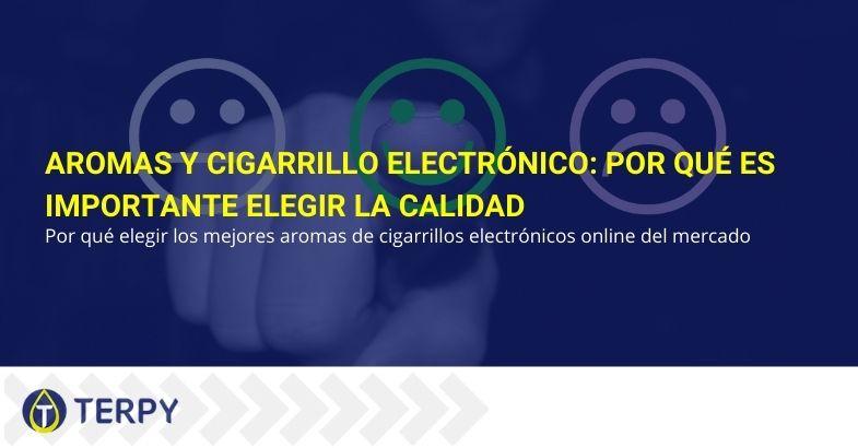 Aromas y cigarrillo electrónico: por qué es importante elegir la calidad