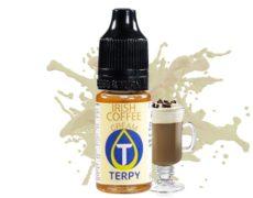 Botella con sabore del irish coffee para vapear