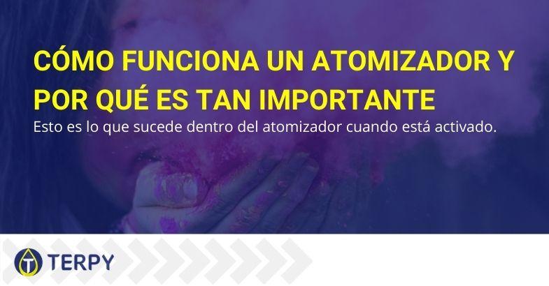 Cómo funciona un atomizador y por qué es tan importante