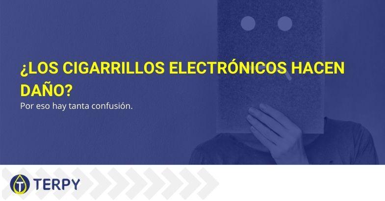 ¿Los cigarrillos electrónicos hacen daño? Por eso hay tanta confusión.