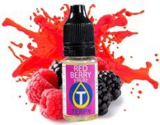 Botella con sabore afrutado para cigarrillo electrónico a frutos rojos