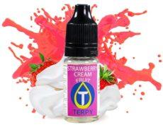 Sabore ftutale para cigarrillos electrónicos con strawberry cream y sabor a fresa