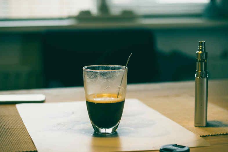 café y e-cig