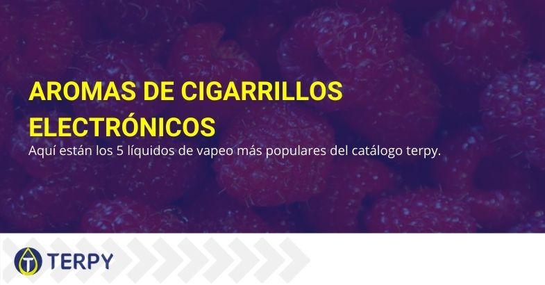 Los 5 mejores sabores para cigarrillos electrónicos en Terpi
