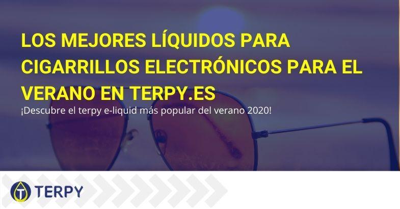 En Terpi.es puedes encontrar los mejores líquidos para cigarrillos electrónicos para el verano