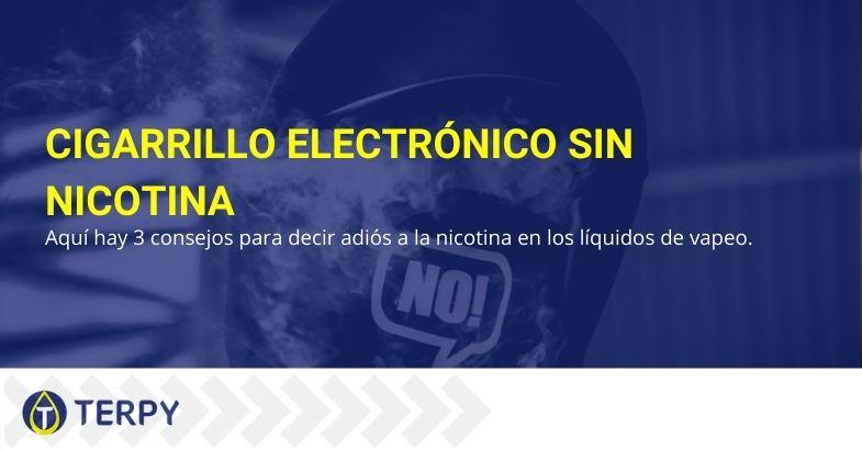 Pierde el hábito de fumar con el cigarrillo electrónico sin nicotina