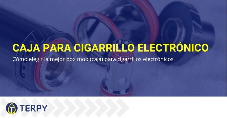 Caja para cigarrillo electrónico