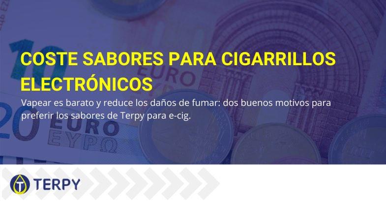 Coste sabores para cigarrillos electrónicos