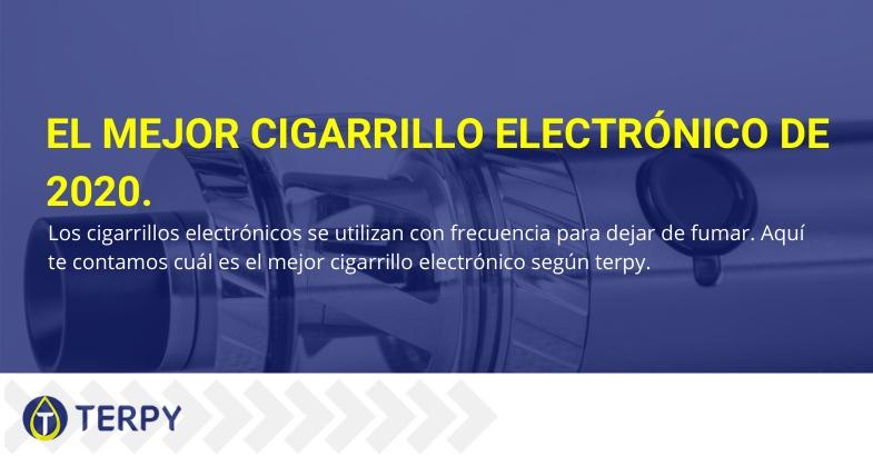 mejor cigarrillo electrónico de 2020 para dejar de fumar