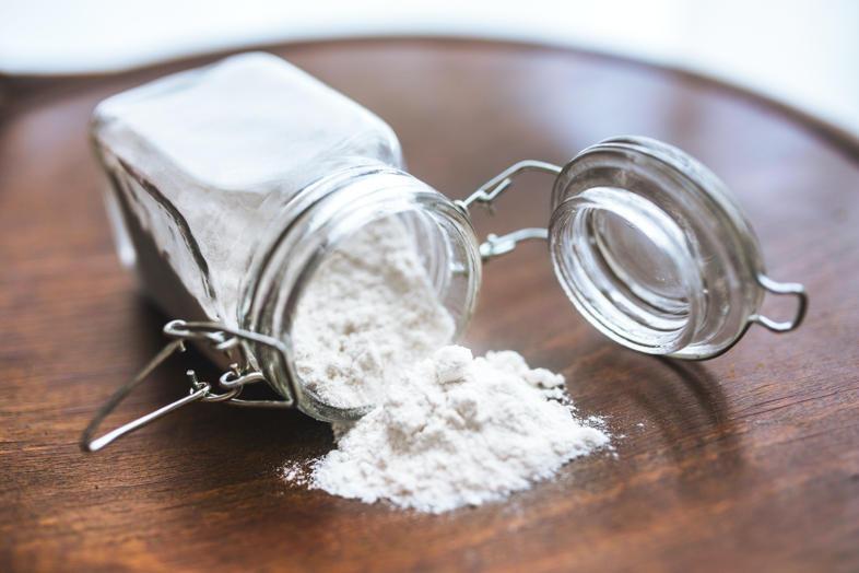Limpiar con bicarbonato de sodio