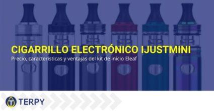 Las características y ventajas del cigarrillo electrónico IJustmini de Eleaf