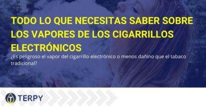 Todo sobre los vapores del cigarrillo electrónico