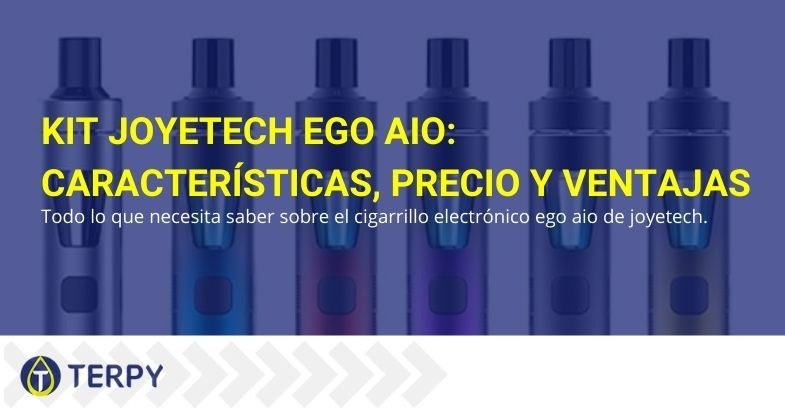 Características, precio y ventajas del kit e-cig Joyetech eGo AIO