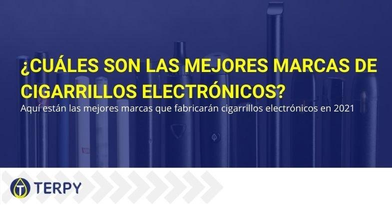 Las mejores marcas de cigarrillos electrónicos, ¿cuáles son?
