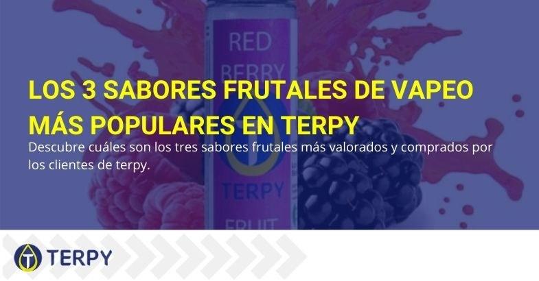 Los tres aromas frutales preferidos por los clientes de Terpy