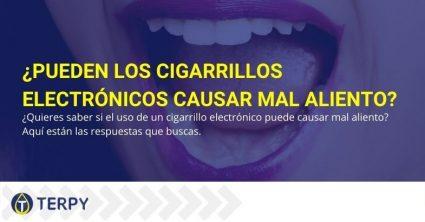 Lo que dicen los expertos sobre el mal aliento que provoca el cigarrillo electrónico.