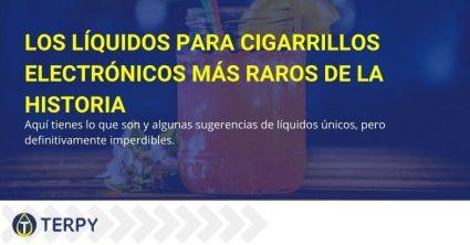 Los líquidos para cigarrillos electrónicos más particulares de la historia