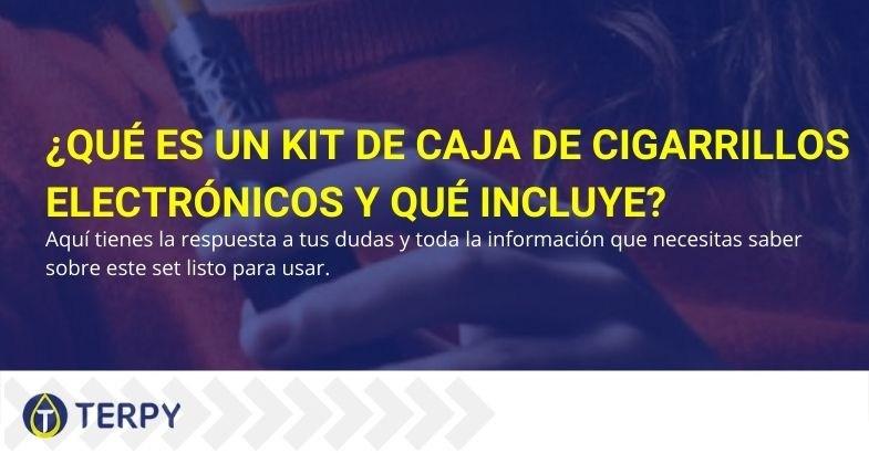 Toda la información sobre los kits de cigarrillos electrónicos